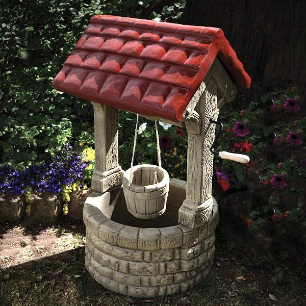 Stone Garden Wishing Well Garden Ornaments Stone and Gardens