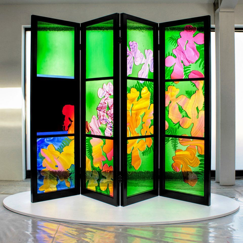Brian Clarke, architectural artist, stained glass artist and painter. | brian clarke | Stained glass, Glass, Glass art