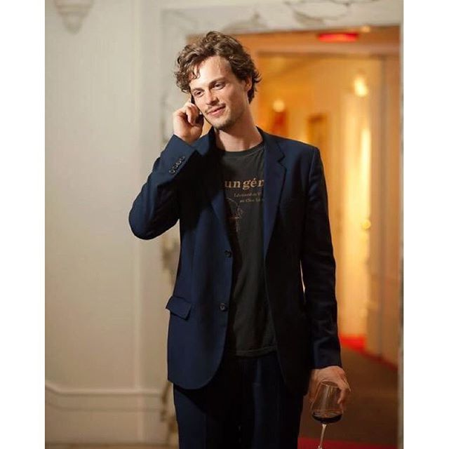 "The definition of ""Handsome"" is Matthew Gray Gubler."
