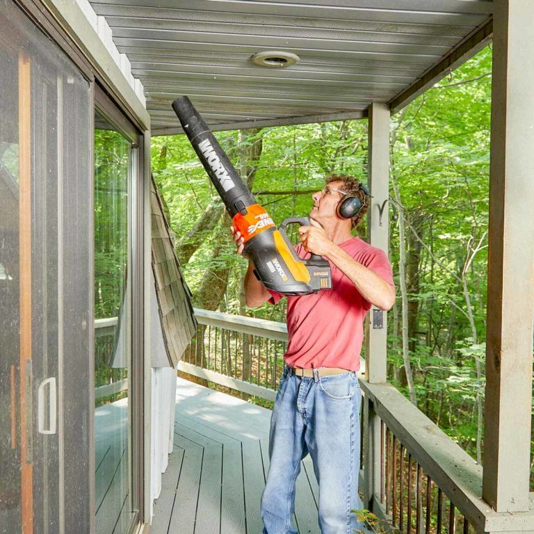 12 brilliant uses for your leaf blower with images