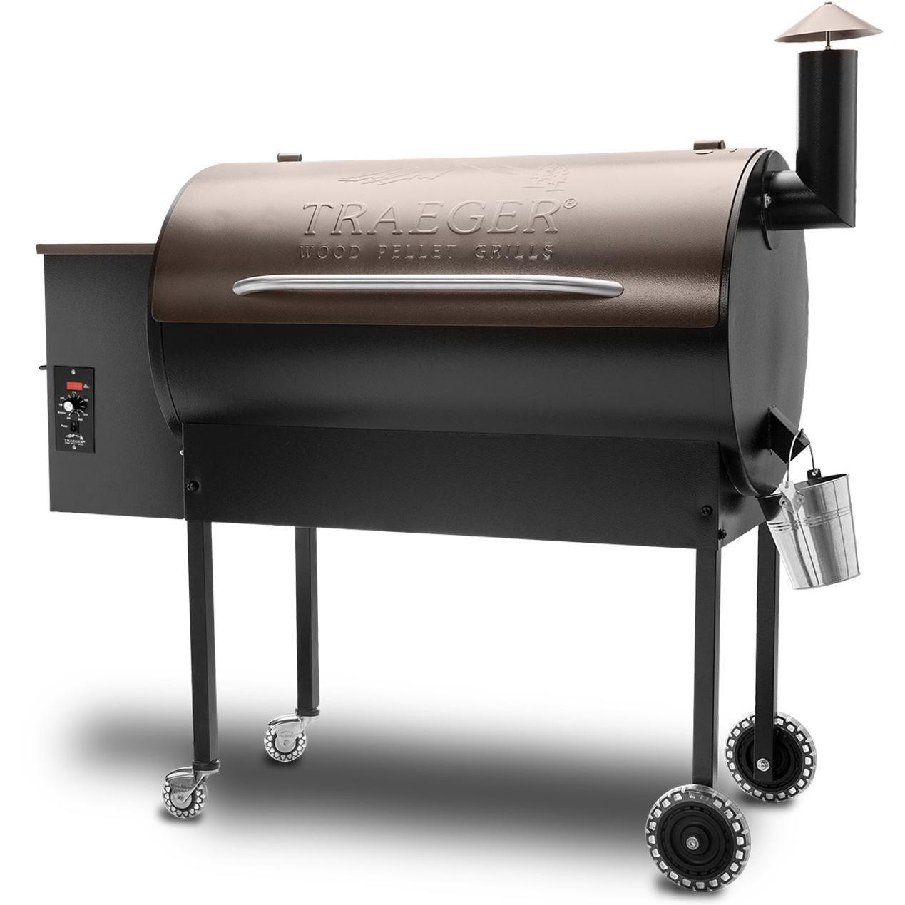 Traeger Texas Elite Pellet Grill On Cart - Bronze | Wish