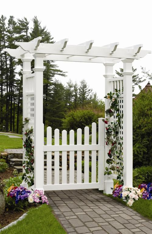 New England Arbors Fairfield Arbor With Images Garden Archway