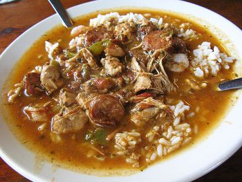 recipe: paul prudhomme chicken and sausage gumbo [2]