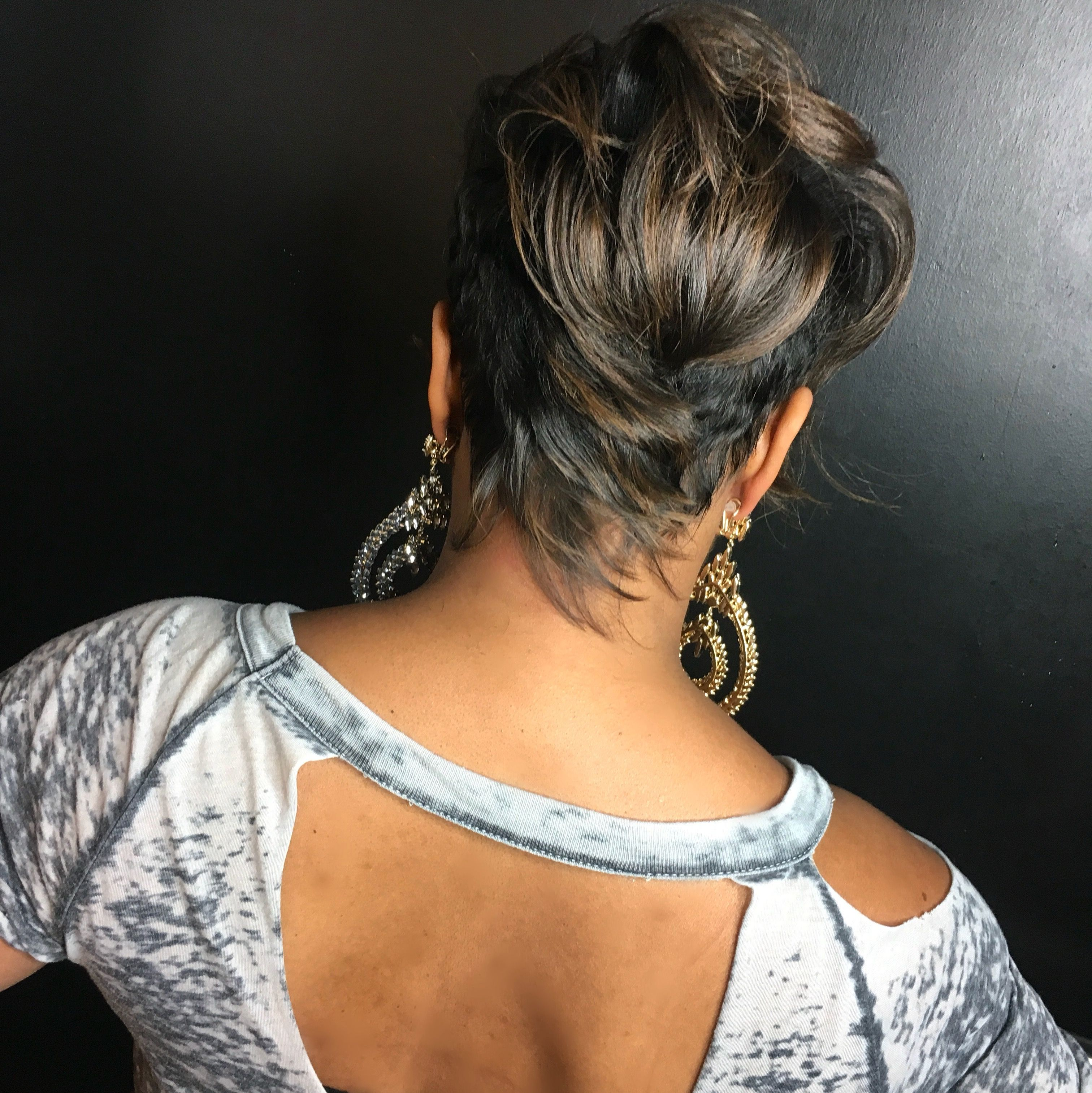 Khimandi back shot pixie khimandi hair hair u more hair