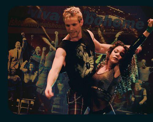 Rent Wallpaper Roger And Mimi Rent Musical Musicals Rent