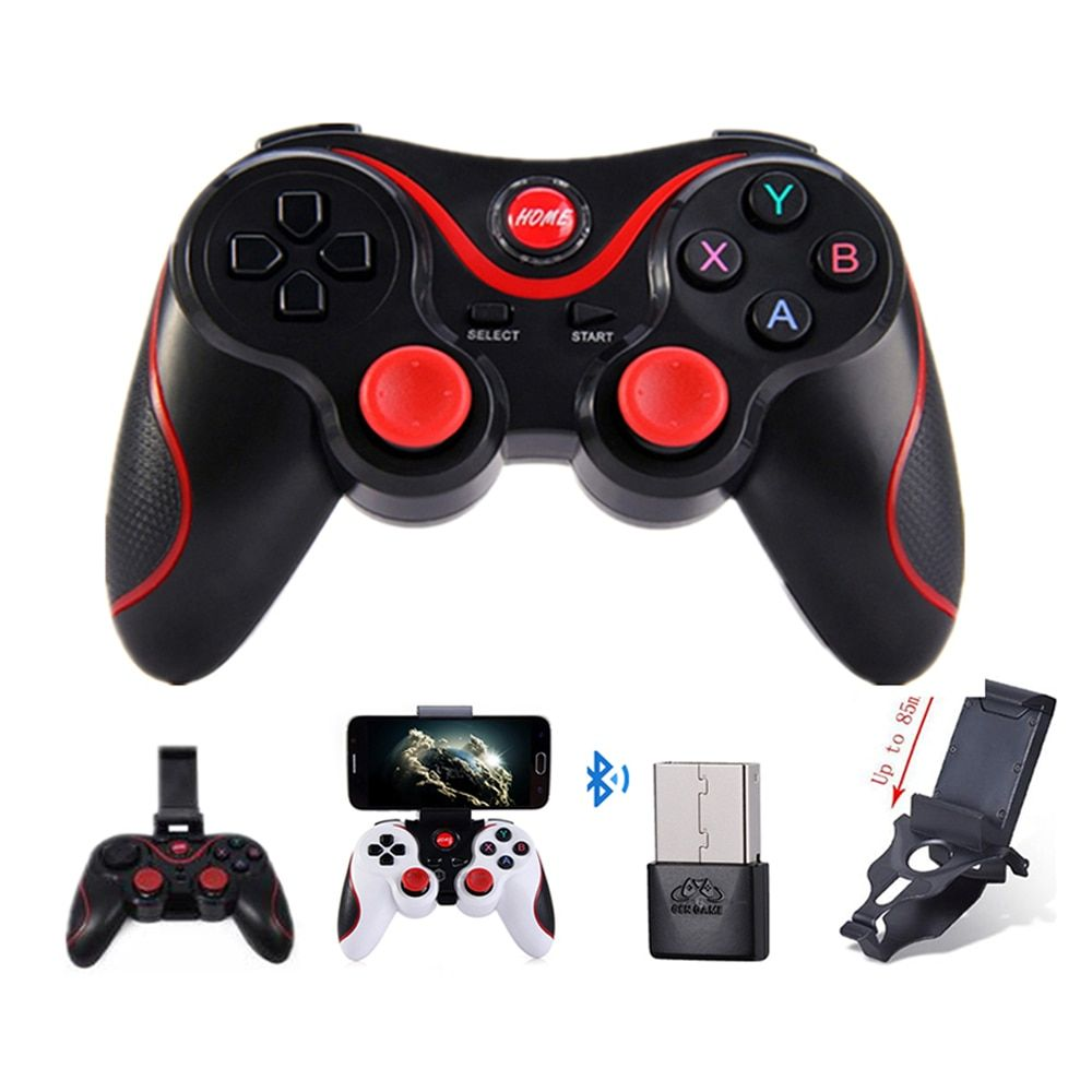 T smart phone game controller wireless joystick bluetooth