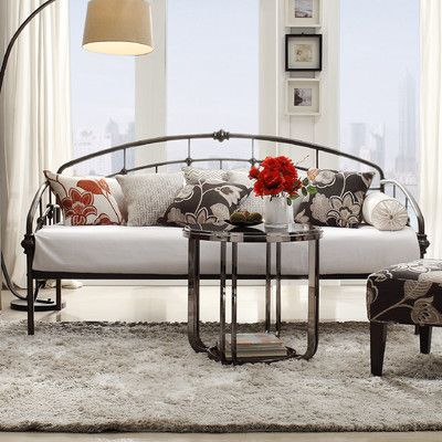 Kingstown Home Isabelyn Daybed - Finish Antique Bronze CONDO - Daybed Images