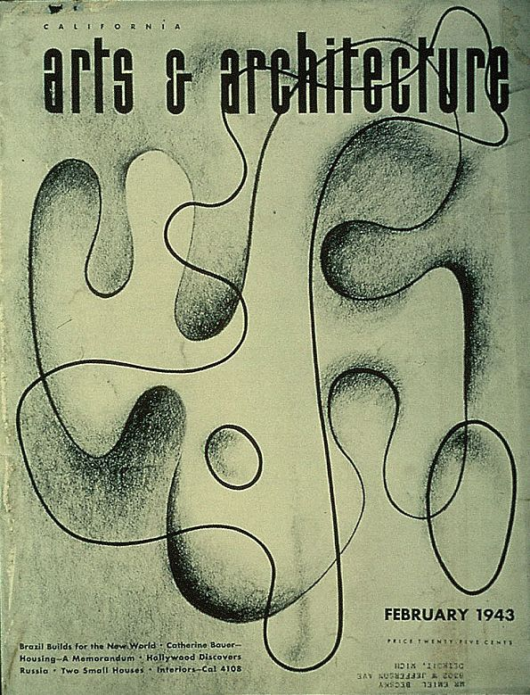 Arts And Architecture Magazine Covers by Ray Eames ...