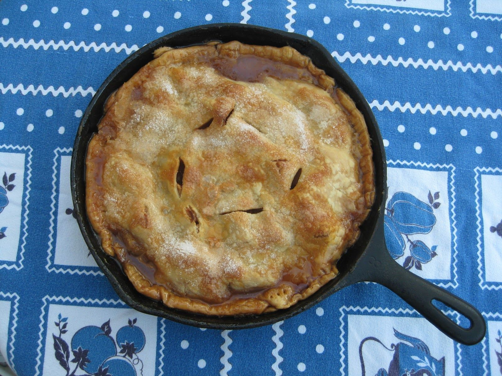 recipe: iron skillet apple pie recipe [24]
