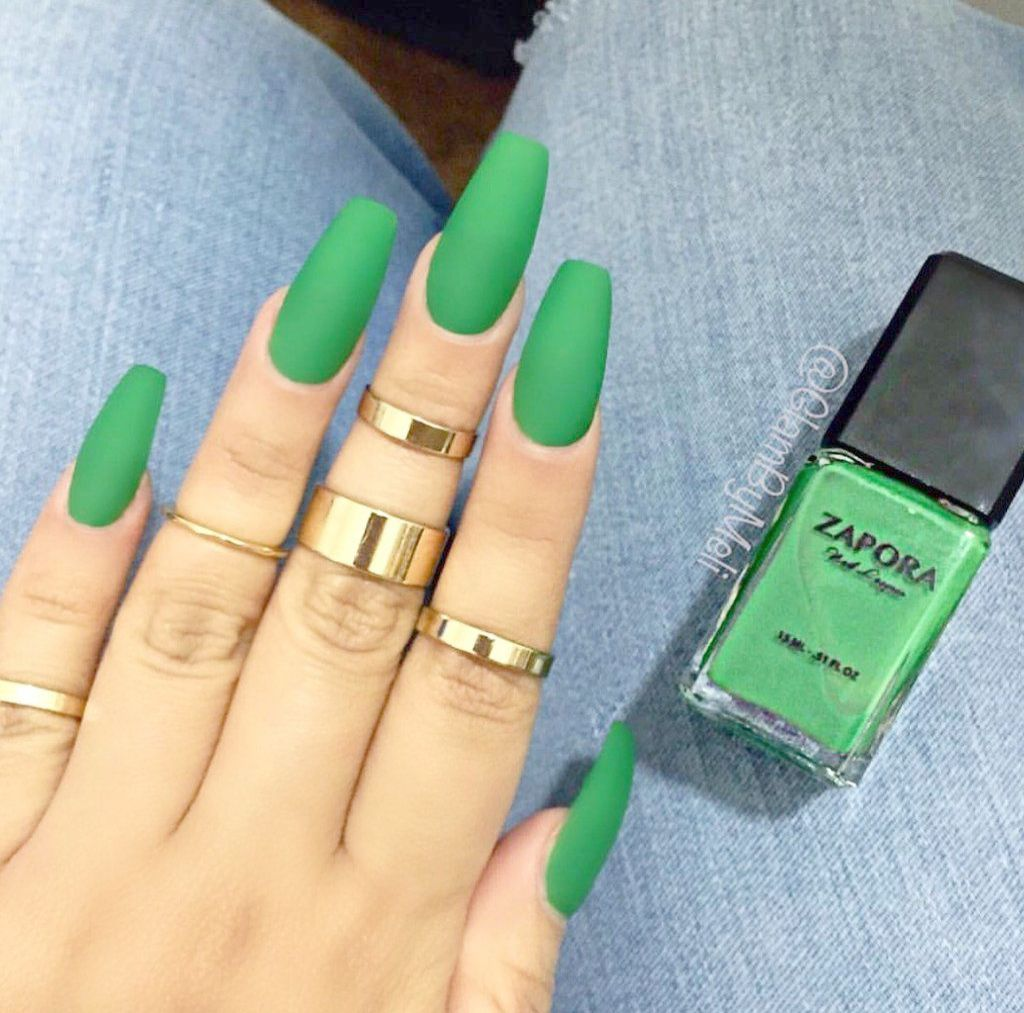 Amazon Com Online Shopping For Electronics Apparel Computers Books Dvds More Green Nails Stylish Nails Art Matte Green Nails