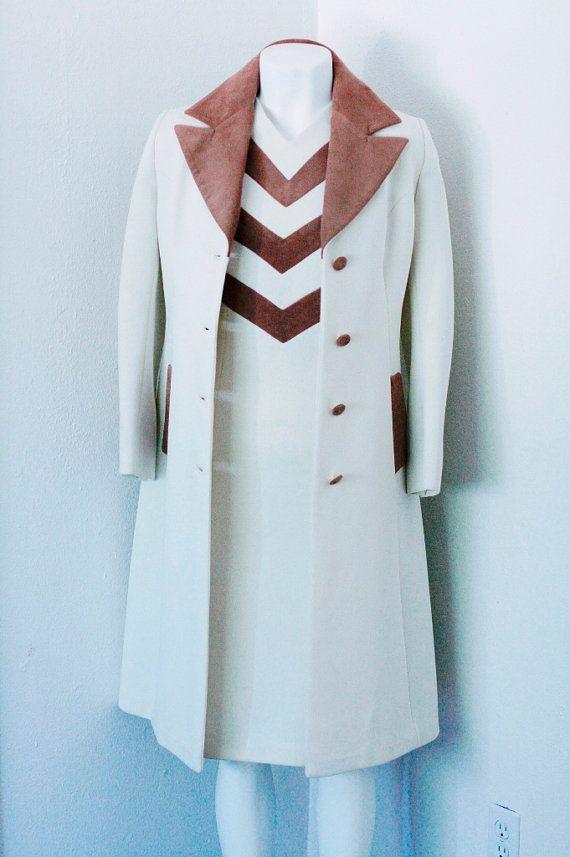 1960's Vintage Designer Lilli Ann MOD Dress Coat Jacket Suit Set ...