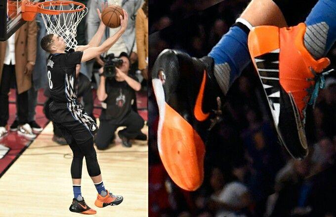 buy popular 94c44 3d8de Nike Hyperdunk 2015 low (Zach Lavine on NBA All-Star Verizon Slam Dunk 2016)  This kicks will get you soar high in the sky like Zach.