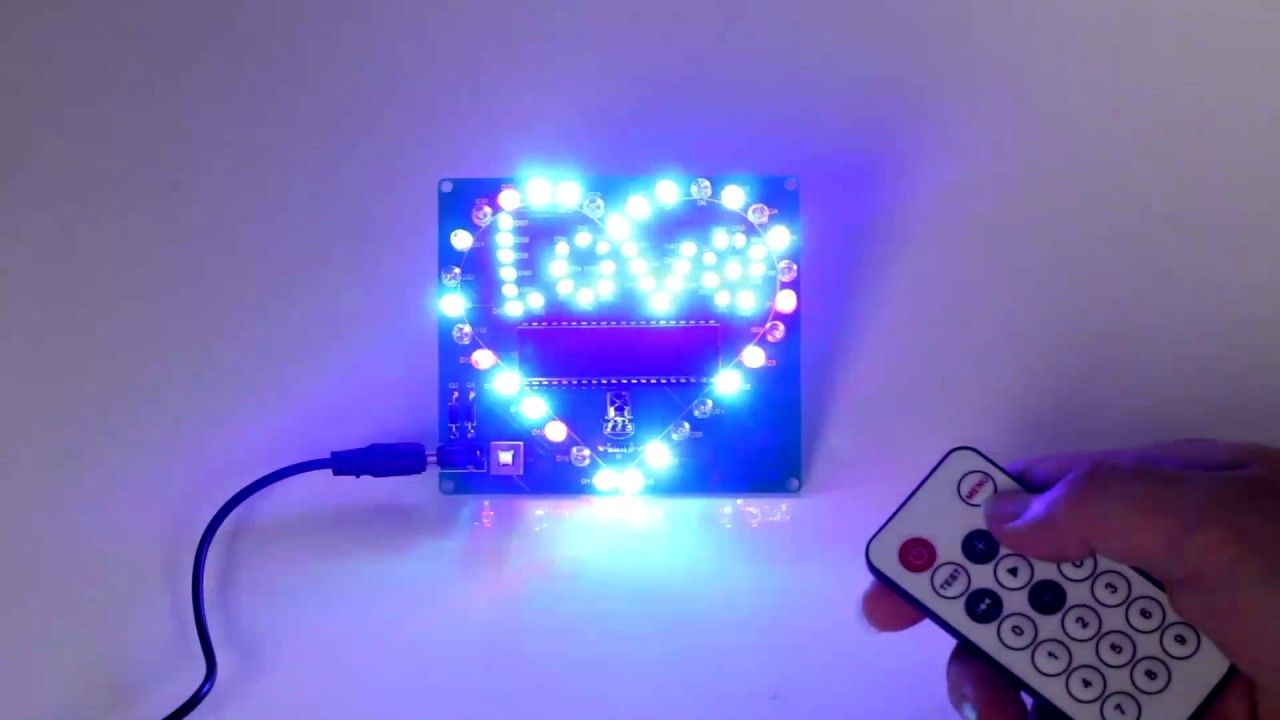 Pin By Icstation Ics On Diy Electronic Kits Diy Electronic Kits Led Diy Led Kit