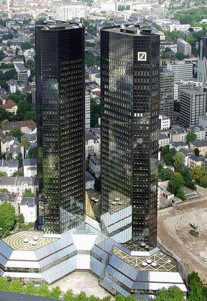 Headquarter Of Deutsche Bank Ag In Frankfurt Am Main German Frankfurt Maine Germany
