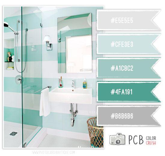 Bathroom Color Ideas Palette And Paint Schemes: Bathroom Colors, Color Inspiration, Paint Colors
