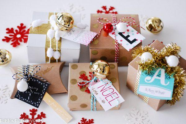 Handmade wrapping ideas