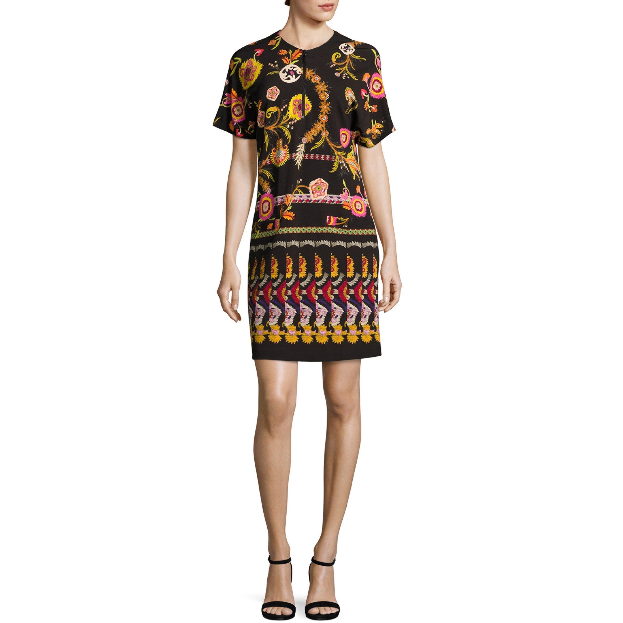 Floral-printed jersey dress Etro whTH42