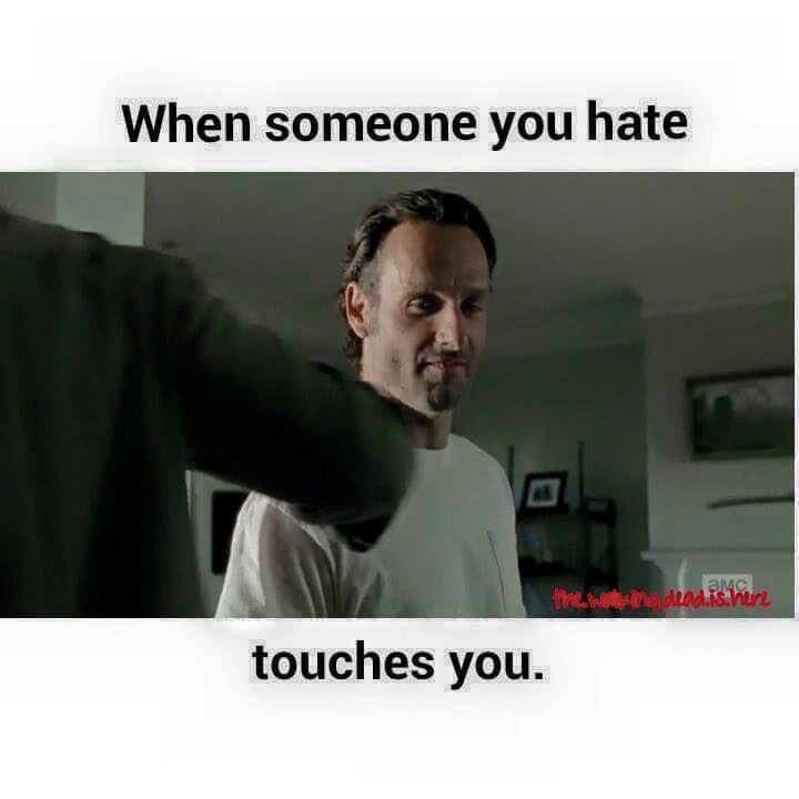 Pin On Rick Grimes Funny Memes
