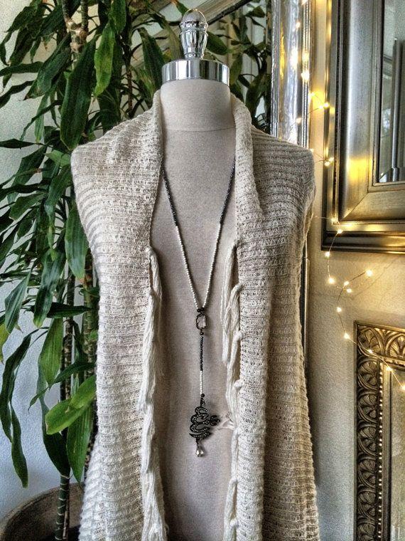 Saint Snow necklace by PetiteBohemianShop on Etsy, $150.00