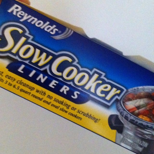 If you have a slow cooker, greatest thing ever invented.