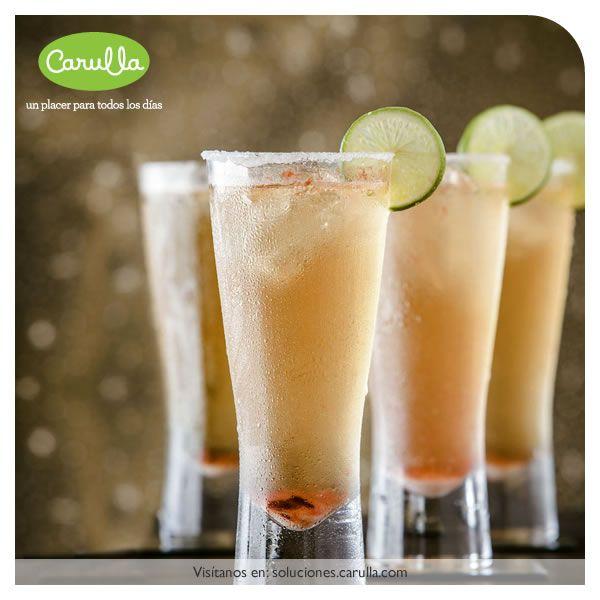 Cerveza michelada - típica do méxico, leva suco de limão e molho de pimenta