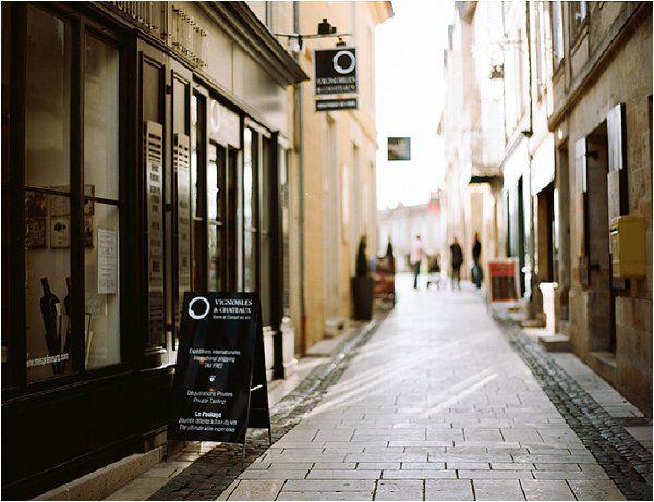 streets of st emilion. France
