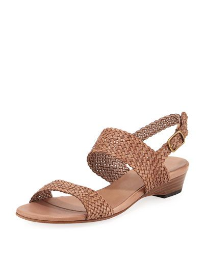 Gemmy Woven Leather Sandal, Neutral   *Last Call*   Pinterest ...