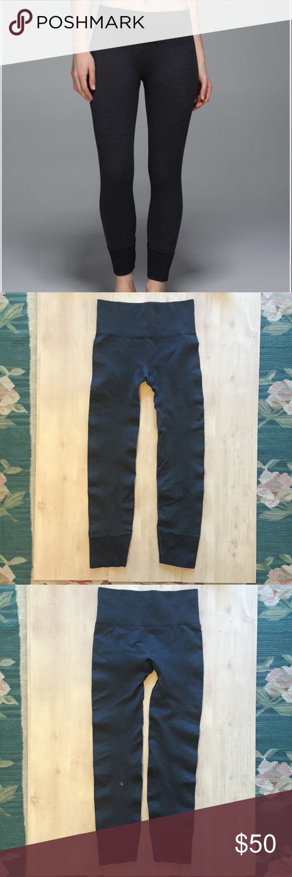 0f1895a3016189 Lululemon Ebb To Street Pant/Leggings Thick Sz 4 Lululemon Ebb To Street  Pant/ Leggings Dark Gray Sz 4 Pre owned no holes no stains EUC very thick  material ...