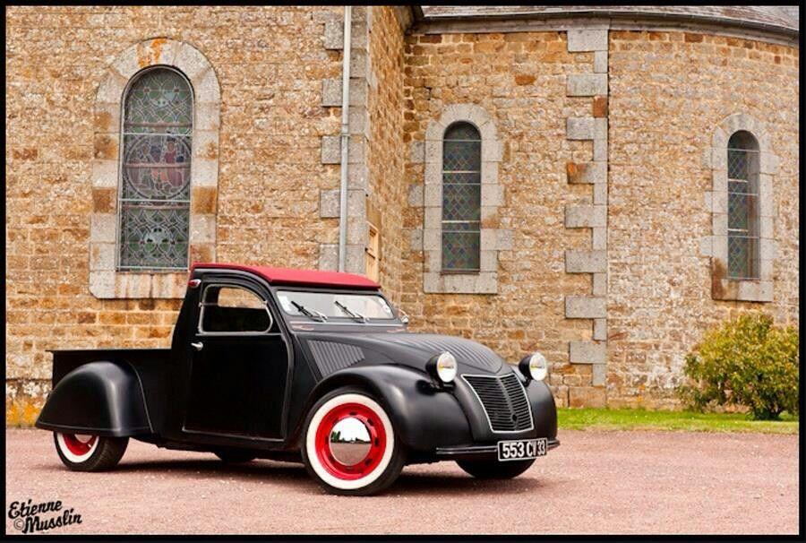 2cv Hot Rod Citroen Car Custom Cars Classic Cars Vintage