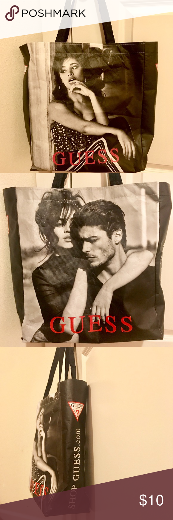 Camila Cabello Guess Tote Bag Reusable tote from guess