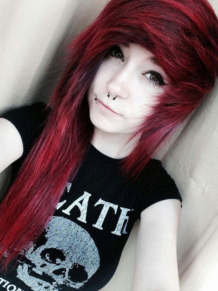 Red Emo Scene Hair Scene Hair Pinterest Emo Scene Hair Emo