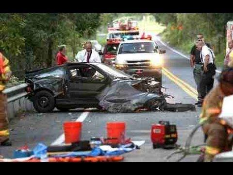 horrible car crash compilation 6 no seat belts