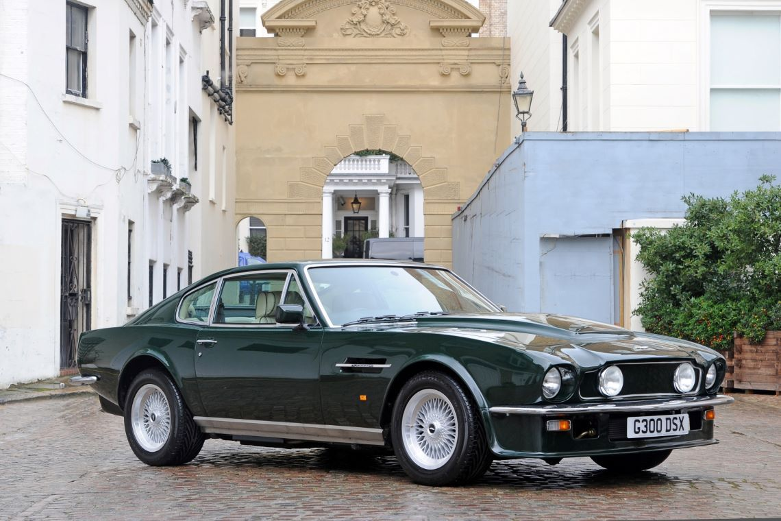 1989 Aston Martin V8 Vantage X Pack Coupe Engine V 580 2689 X