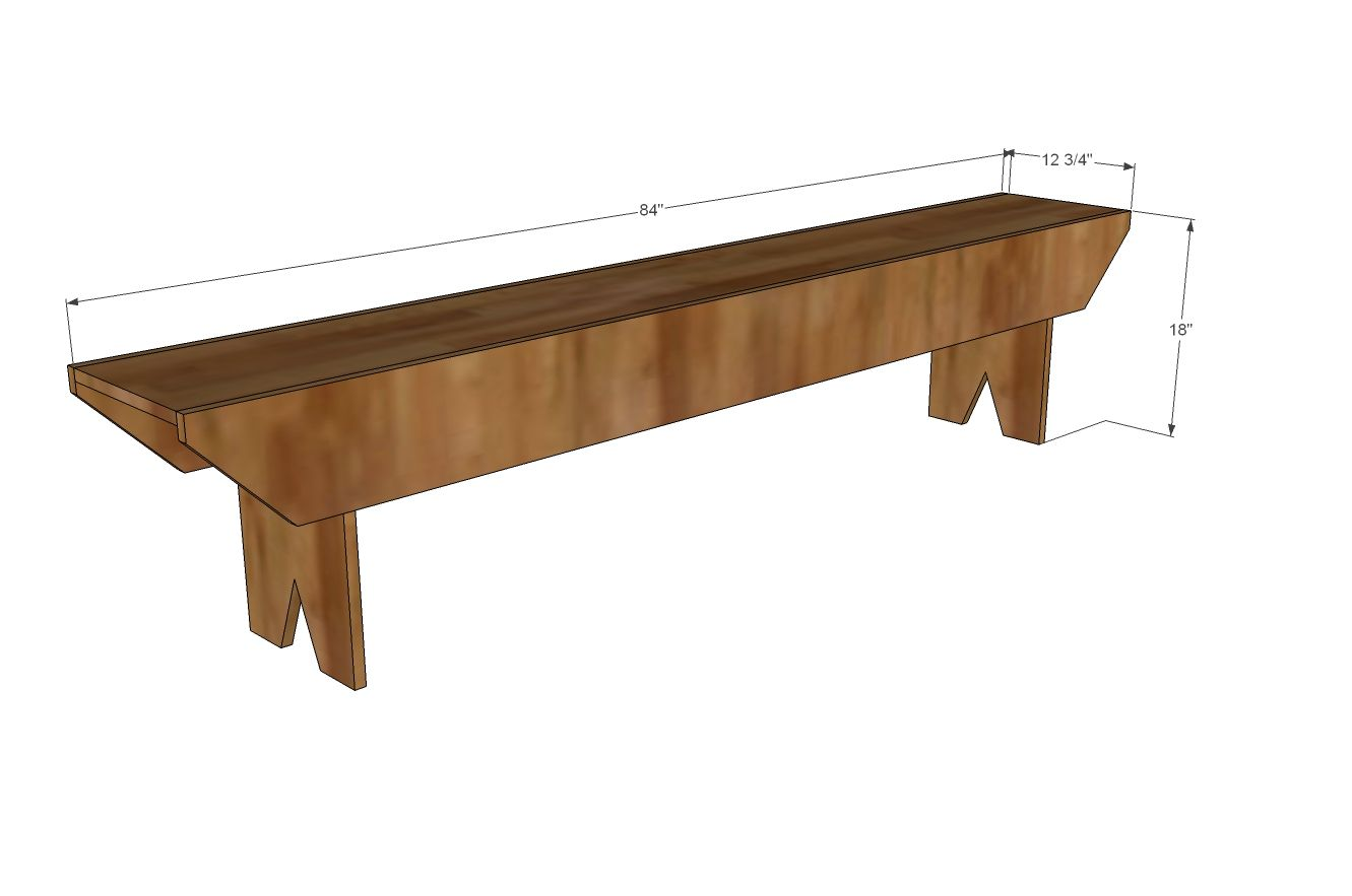 Build A Primitive Bench For Haven Conference