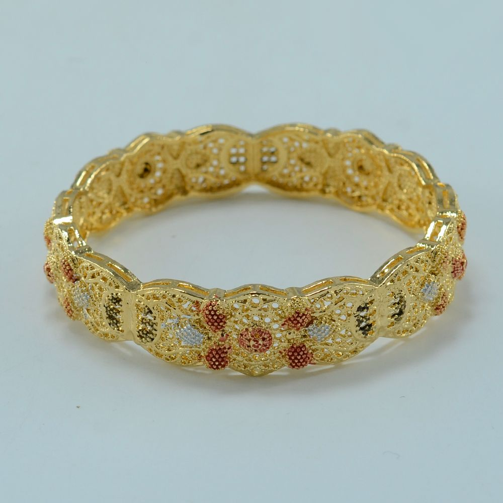 a2521b9c079e1 Arab Bracelet for Women 18K Gold Plated Middle East Bangle Jewelry ...