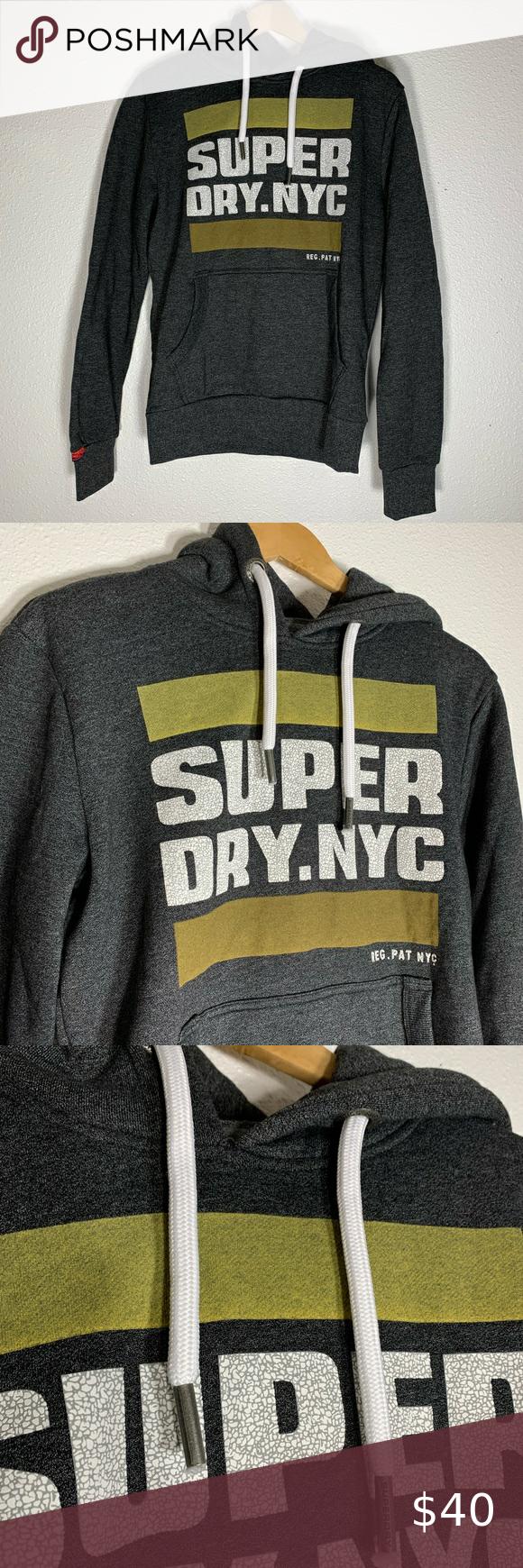 Superdry S Hooded Pullover Sweatshirt Black Grit Black Sweatshirts Hooded Pullover Pullover Sweatshirt Hoodie [ 1740 x 580 Pixel ]
