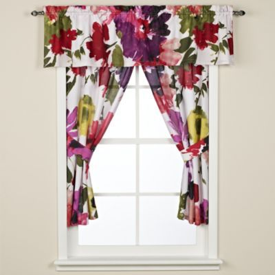 Anthologyâ Avery Bathroom Window Curtain Pair Bedbathandbeyond