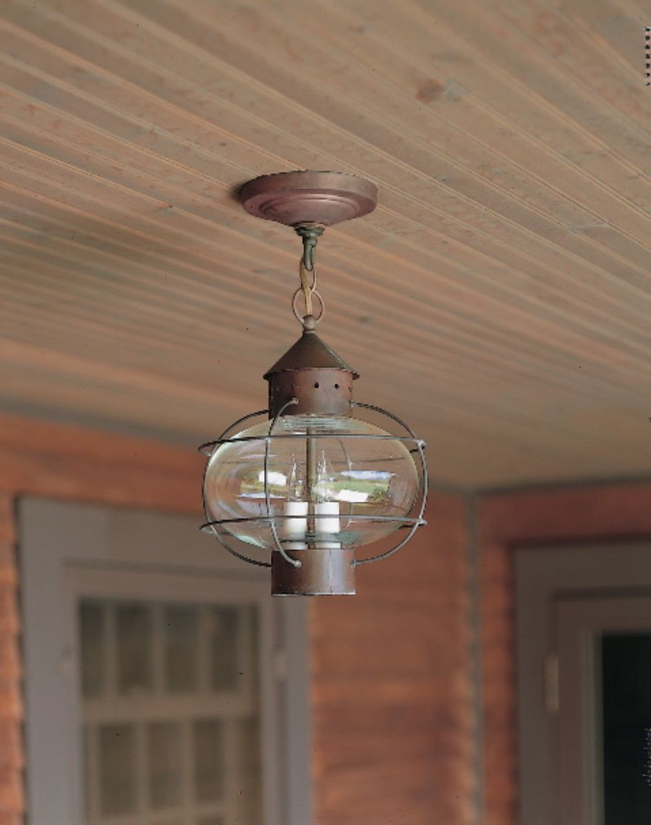 Authentic Designs Lighting Old House Journal Magazine Colonial Lighting Hanging Lanterns Cottage Lighting