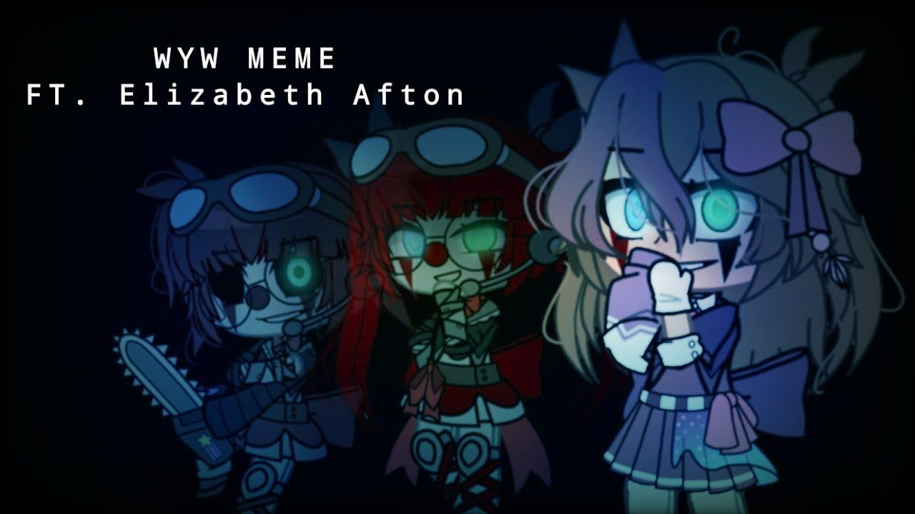 Pin By Galaxy Dragon Goddess On Gacha In 2021 Afton Baby Memes Memes