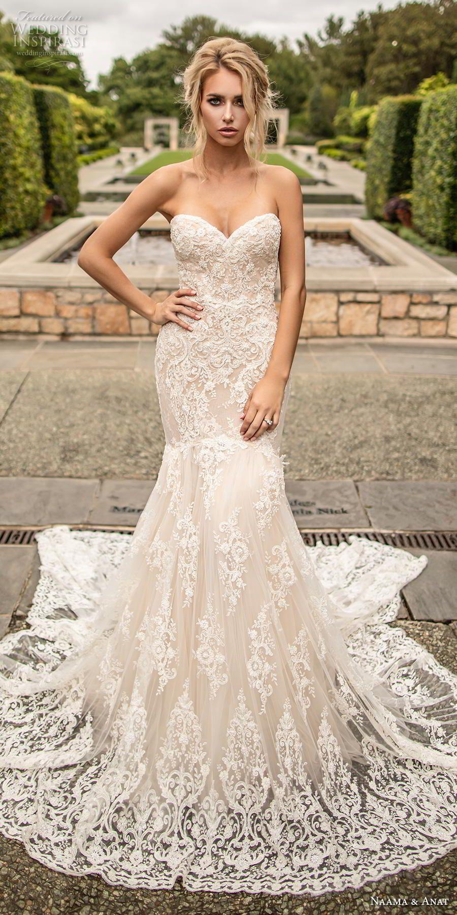 Naama Anat Couture Wedding Dresses Fall 2019 Wedding Inspirasi Wedding Dresses Sweetheart Neckline Wedding Dresses Mermaid Sweetheart Backless Mermaid Wedding Dresses [ 1800 x 900 Pixel ]