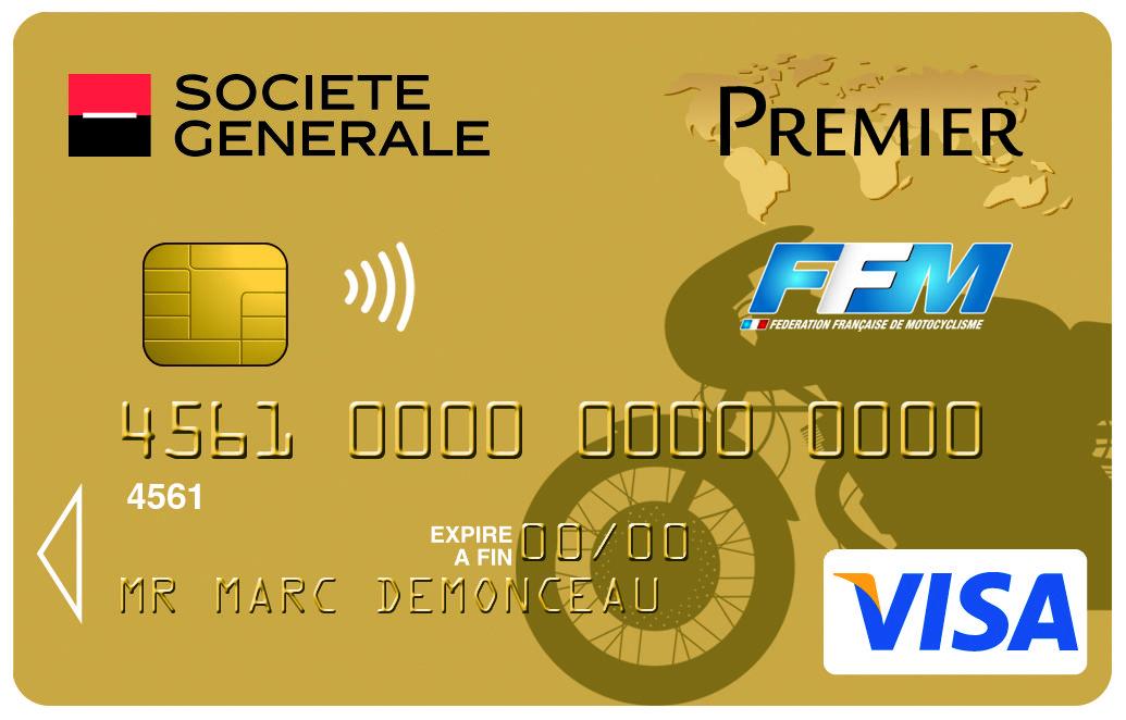 Carte Visapremier Federation Francaise De Moto Societegenerale