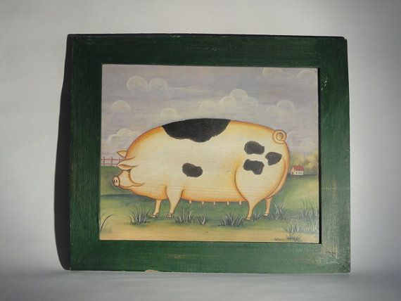 Painting with picutre frame - quadretto con cornice