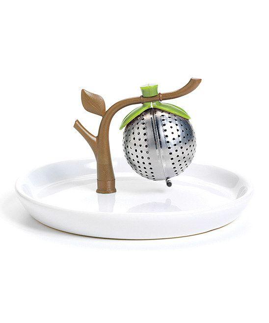 Branch Tea Infuser & Saucer