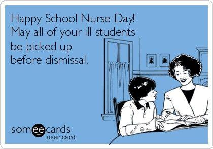 Happy School Nurse Day With Images Nursing School Nursing