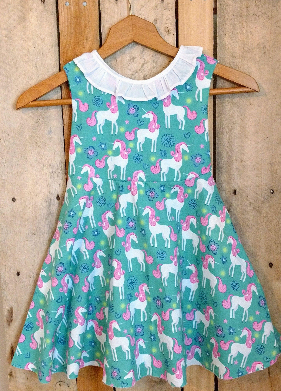 Unicorn dress, unicorn party dress, unicorn baby dress, unicorn ...