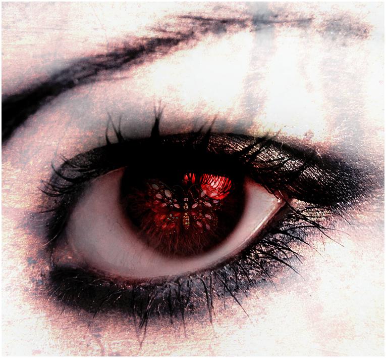 Red Eye By Roltirirang Deviantart Com On Deviantart Red Eyes Eyes Red