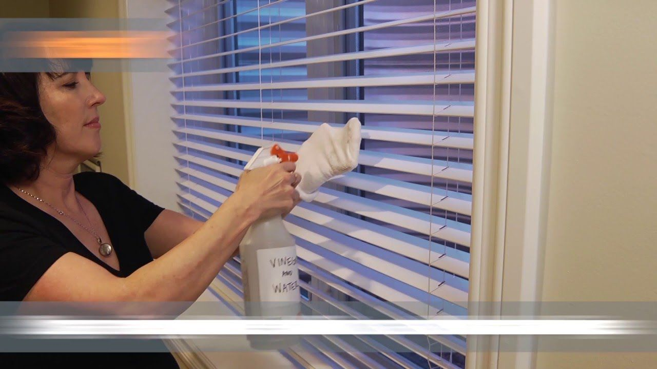 how to remove window blinds video