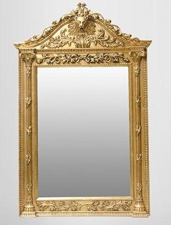 Gigantischer Casa Padrino Barock Spiegel Löwe Gold H 270 cm B 165 - küche 270 cm