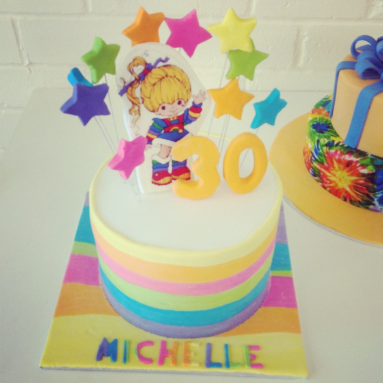 Pin Rainbow Brite Cake Cakes Cupcakes And Pops Oh My Cake on Pinterest