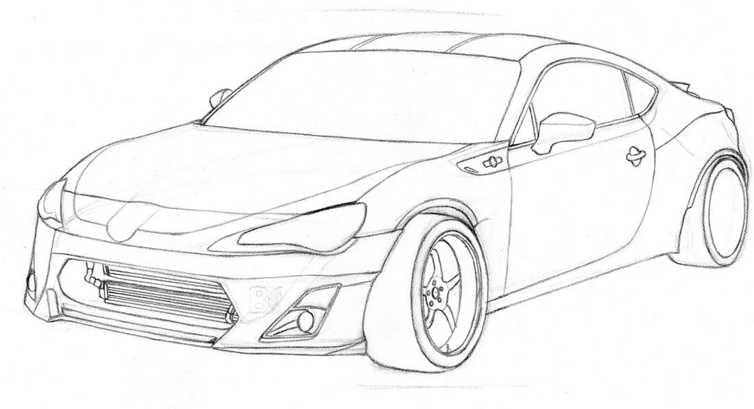 Toyota GT-86 Drift WIP by Millo97 on DeviantArt